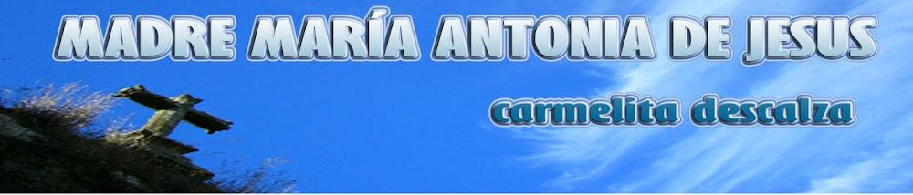 Madre María Antonia de Jesús Pereira y Andrade, carmelita descalza