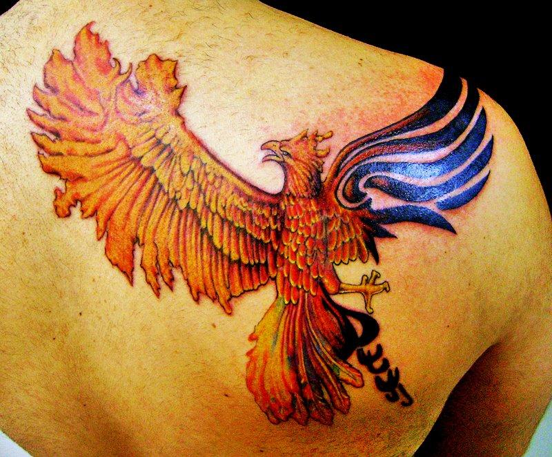 Shaded tattoos taurus tattoos beautiful tattoo quotes for Fenix tribal tattoo