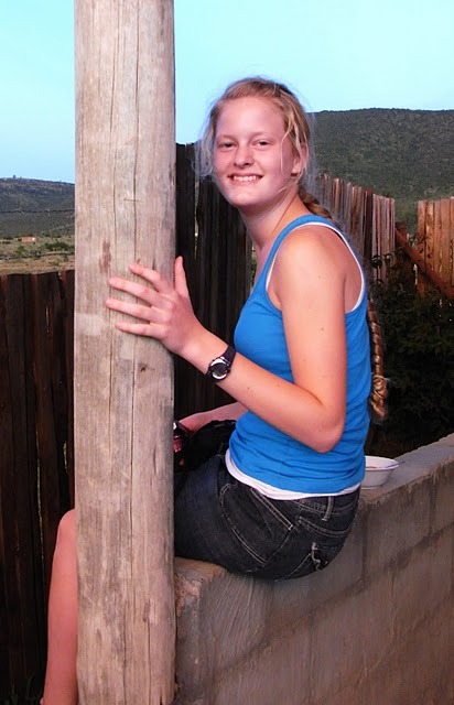 A volunteer in South Africa!
