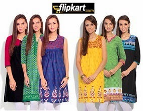 Flipkart: Combo of 3 Women's Shree Kurta worth Rs.1799 just for Rs.999 Only (Flat 44% Off)