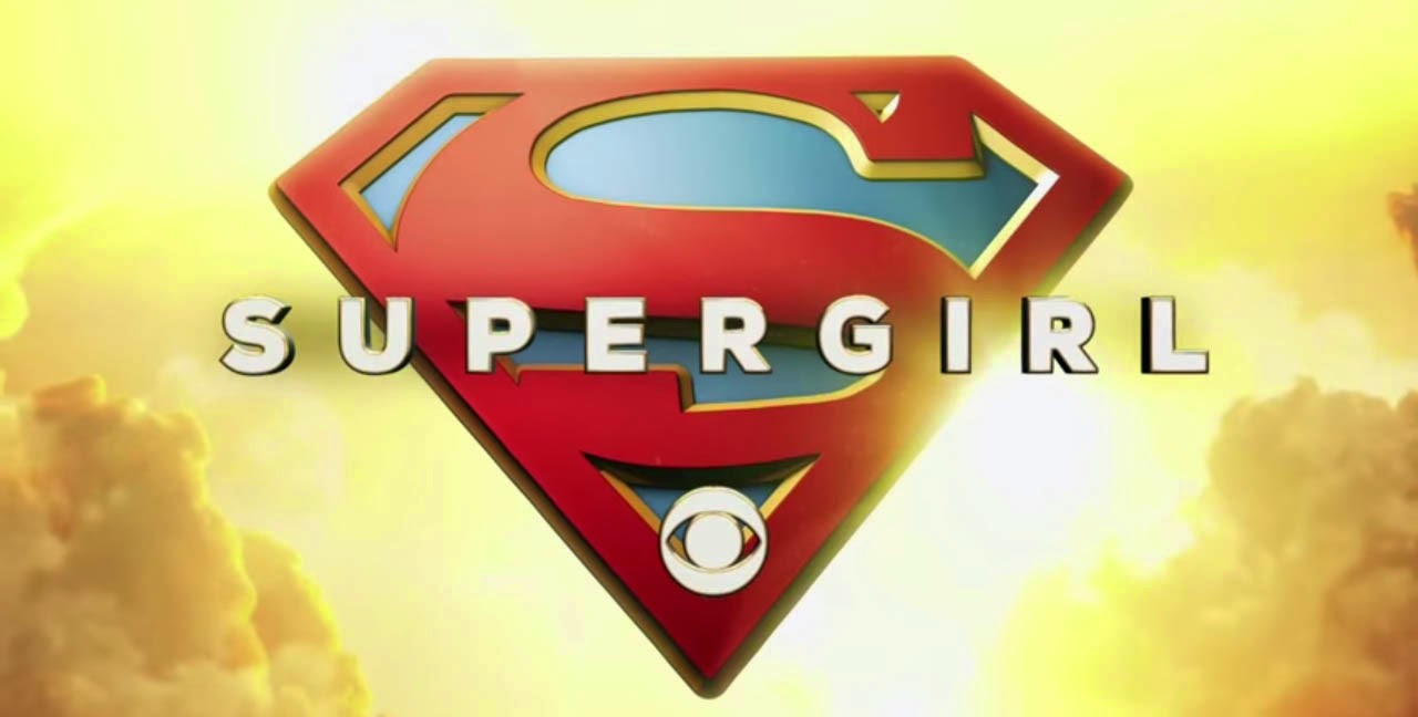 CBS Supergirl 2015 us television series title card cmaquest review