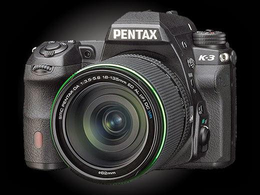 Review, Spesifikasi dan Harga Kamera DSLR Pentax K-3