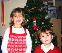Top Ender and Big Boy at Christmas