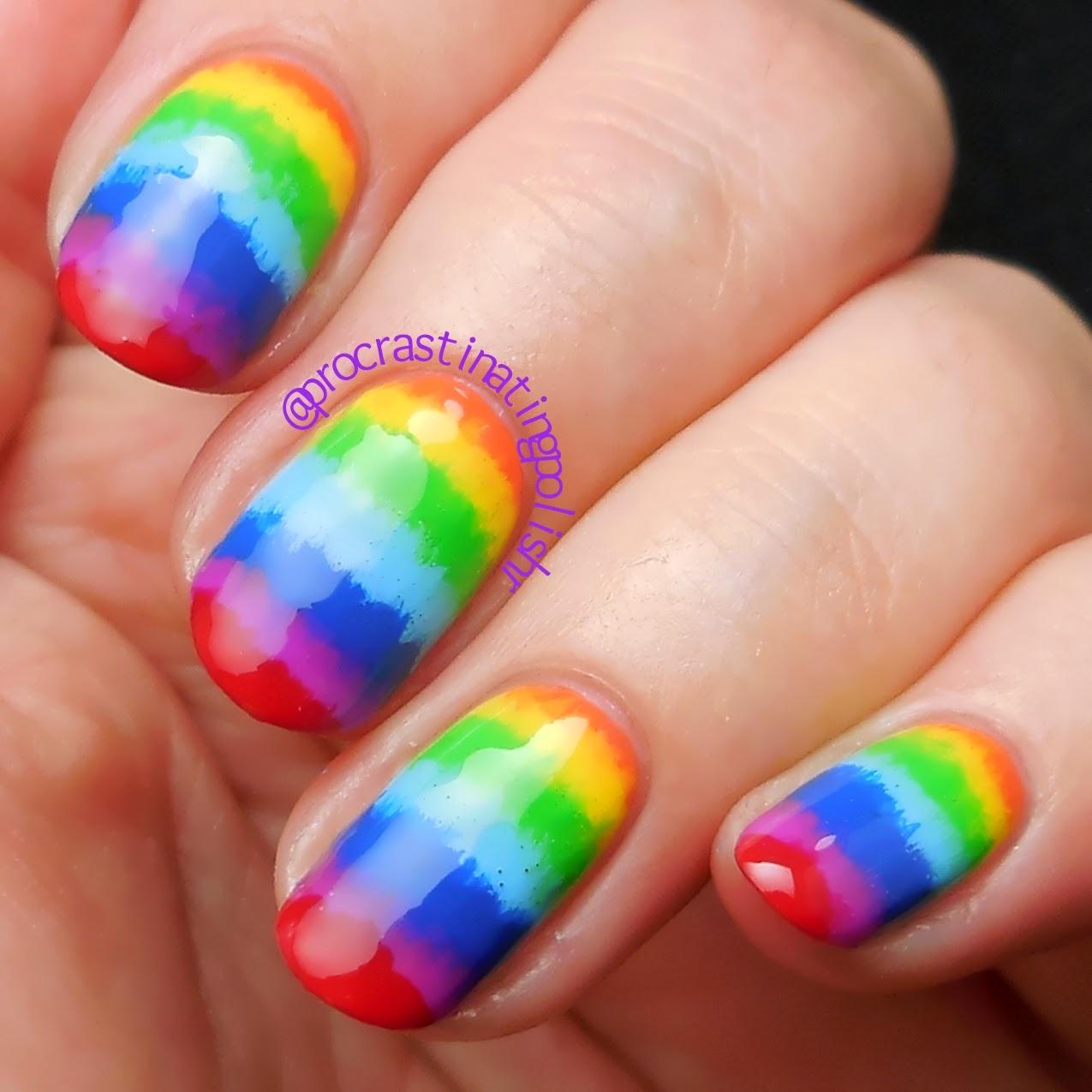 31 Day Challenge 2014 Day 9 - Rainbow