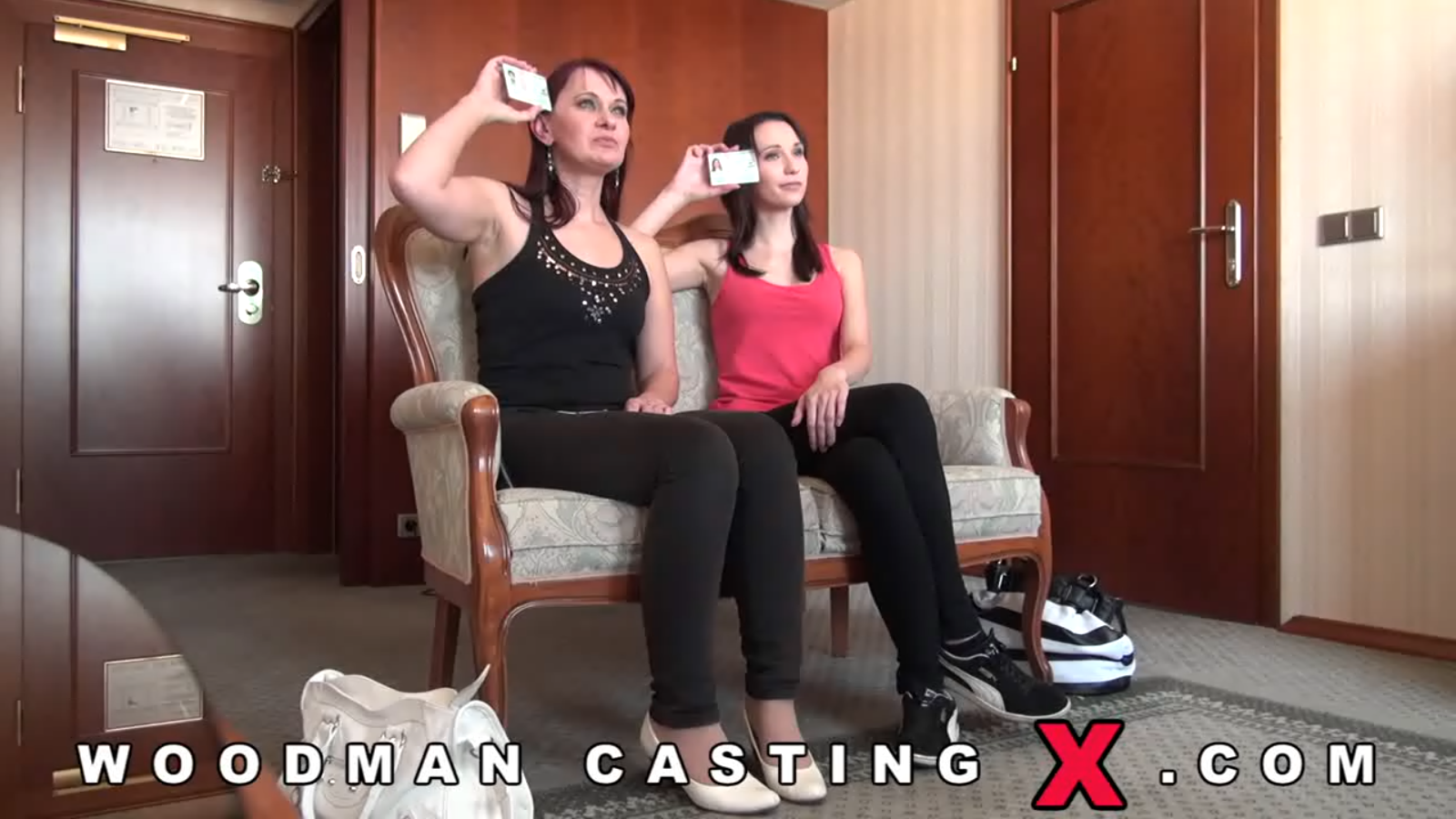 Woodman Casting X Mom and Daughter