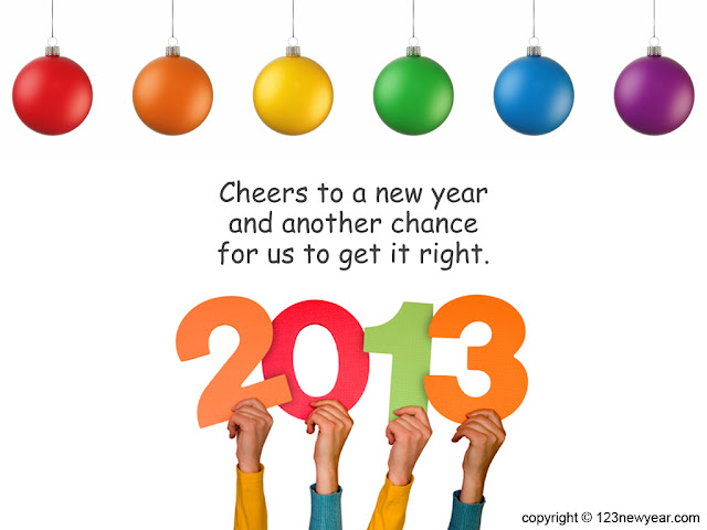 New Year 2013 Celebrations - new year wishes, messages, wallpapers