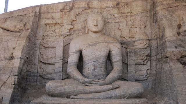 Budas de Gal Vihara (Polonnaruwa - Sri Lanka)