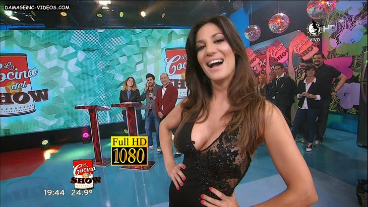 Argentina Celebrity Silvina Escudero hot cleavage 1080 video