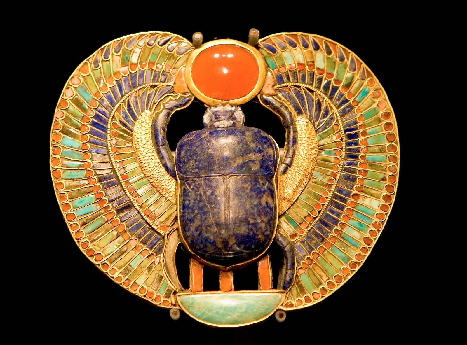Egyptian Scarab AmuletEgyptian Symbols Scarab