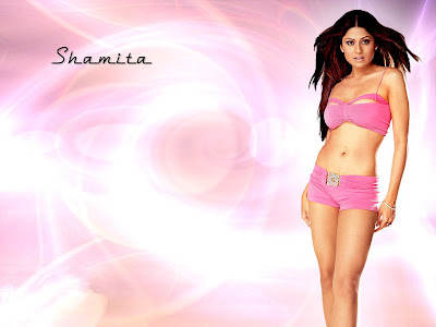 Shamita Shetty sexy wallpapers 1