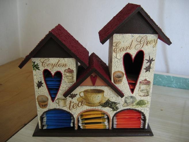 Как сделать чайный домик своими руками из коробки