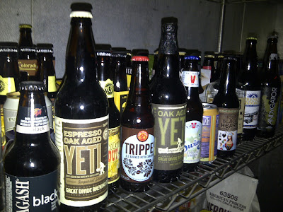 Happy Hour Confections - beer shelf of inspiration