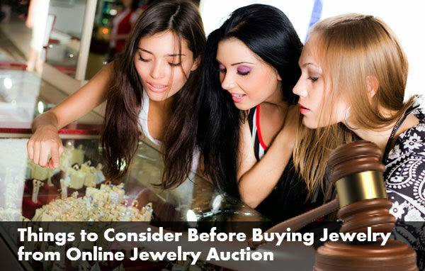 Buying Jewelry from Online Jewelry Auction
