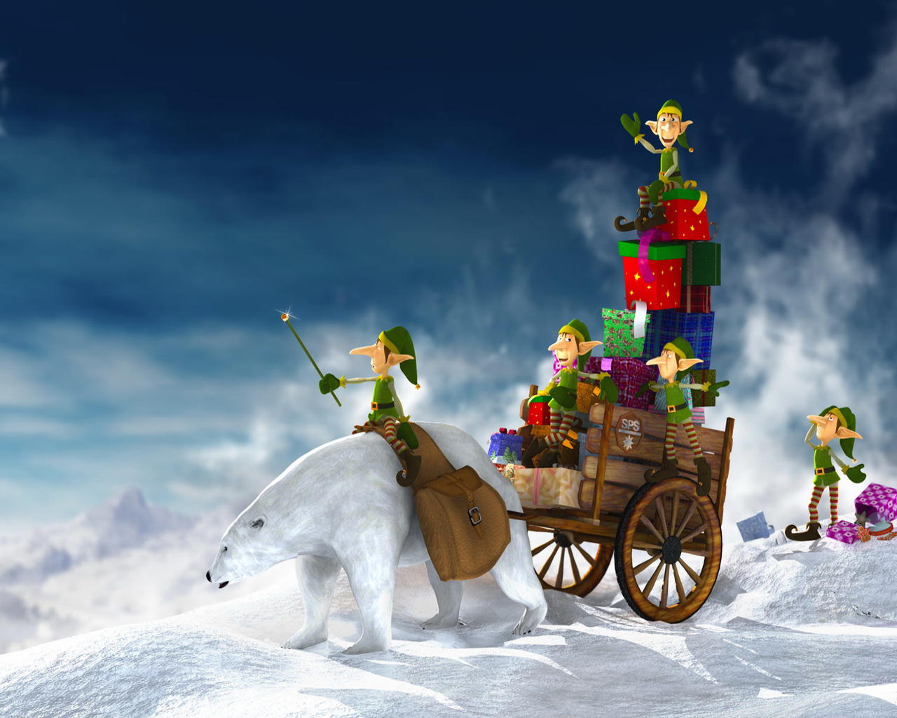 gallery christmas desktop wallpaper | stylish gallery wallpapers