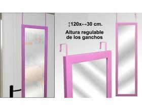 Espejo para colgar con altura regulable for Espejos para colgar