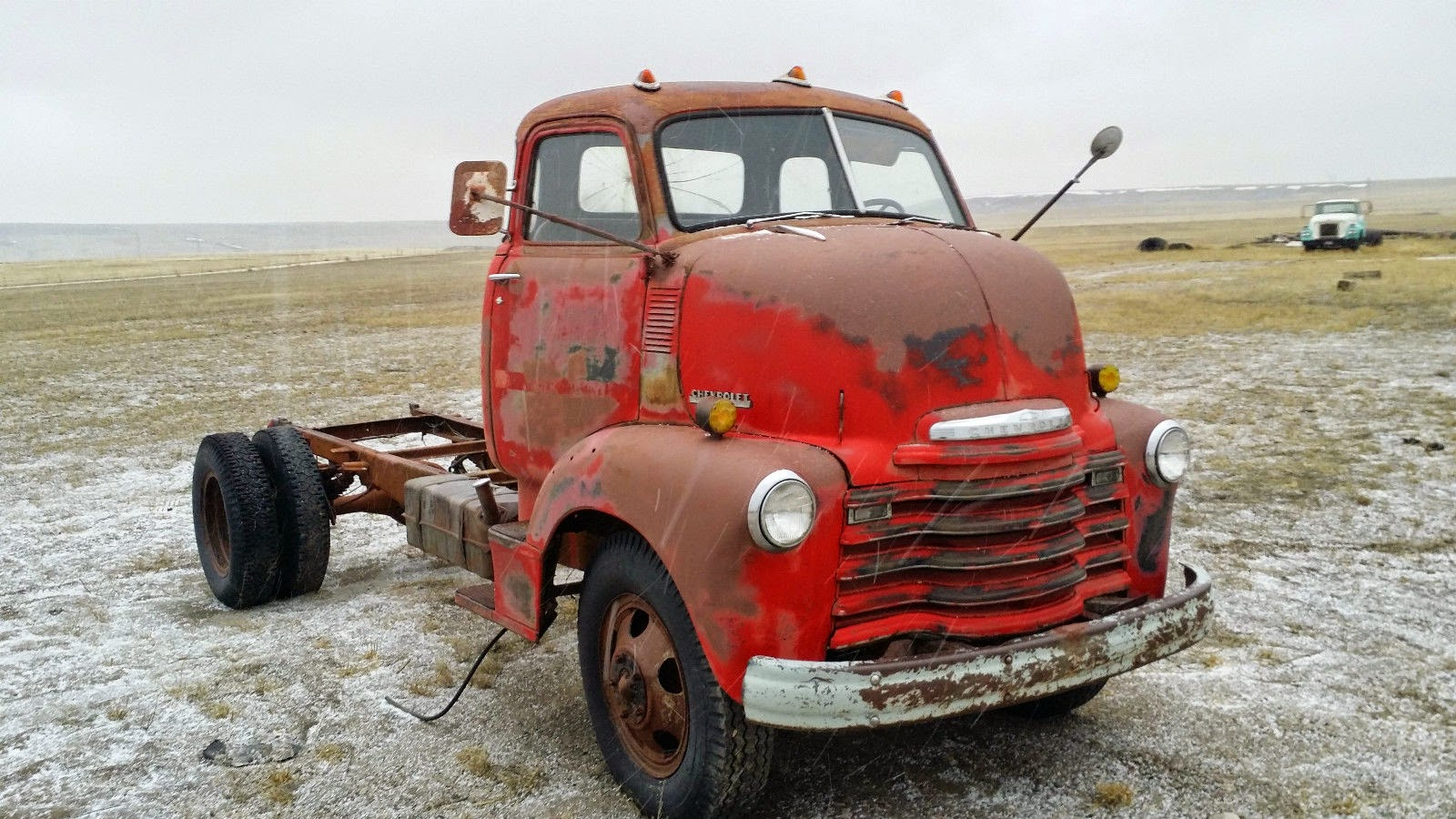 All American Classic Cars  1948 Chevrolet Loadmaster 5703 COE Truck