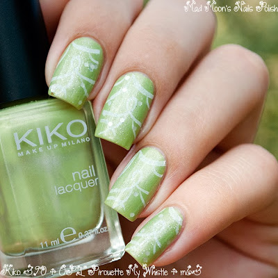 Kiko 390 + OPI Pirouette My Whistle  + m64