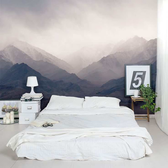 dekorasi kamar tidur alam