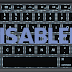 How To Disable Your Keyboard