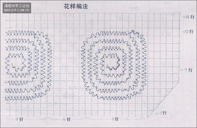 شال كروشية ... مثلث الشكل ألبسيه زي الكوفية في فترة الربيع والخريف  1e