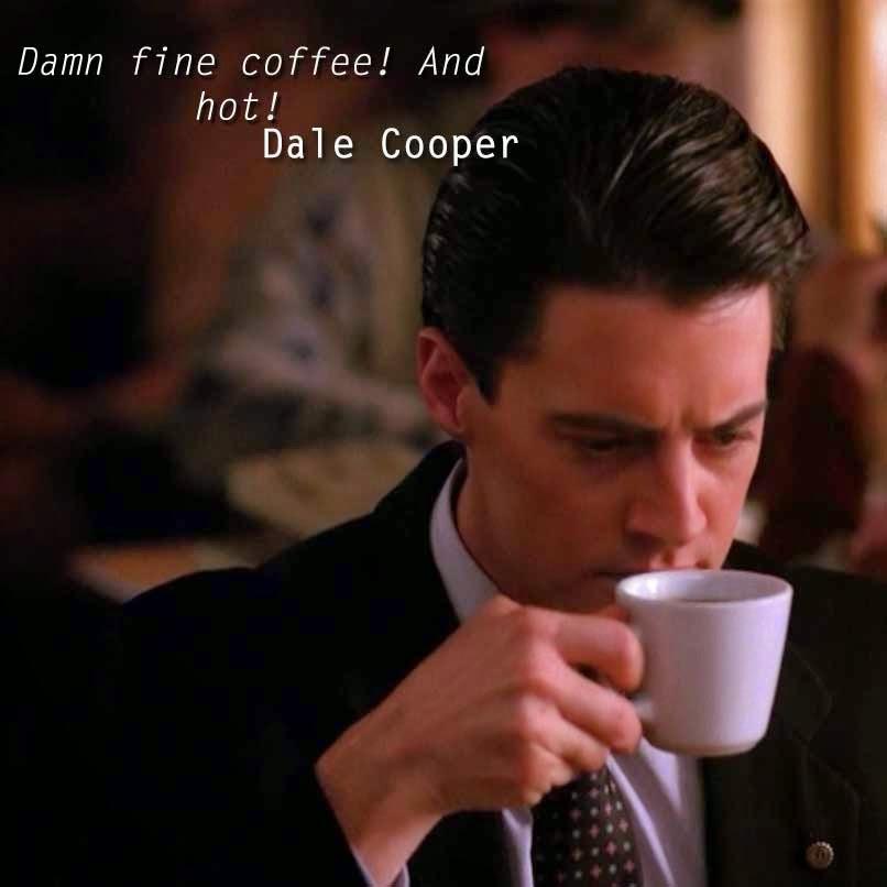 Dale Cooper Twin Peaks Los Lunes Seriefilos