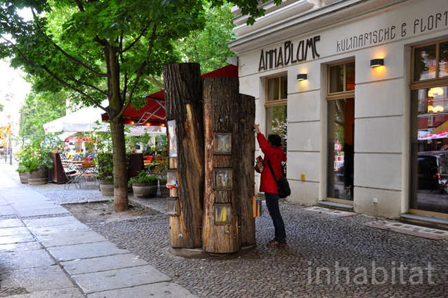 The Book Forest's purpose is to encourage literacy in the surrounding area, and it became very popular. - A Neighborhood In Germany Has An Awesome Book Exchange Inside Of Trees