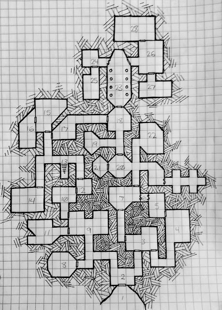 going dungeon crawling  fill in this map