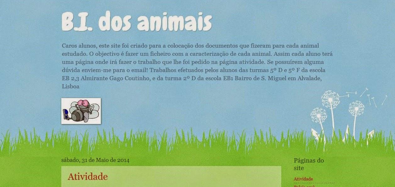 BI dos animais