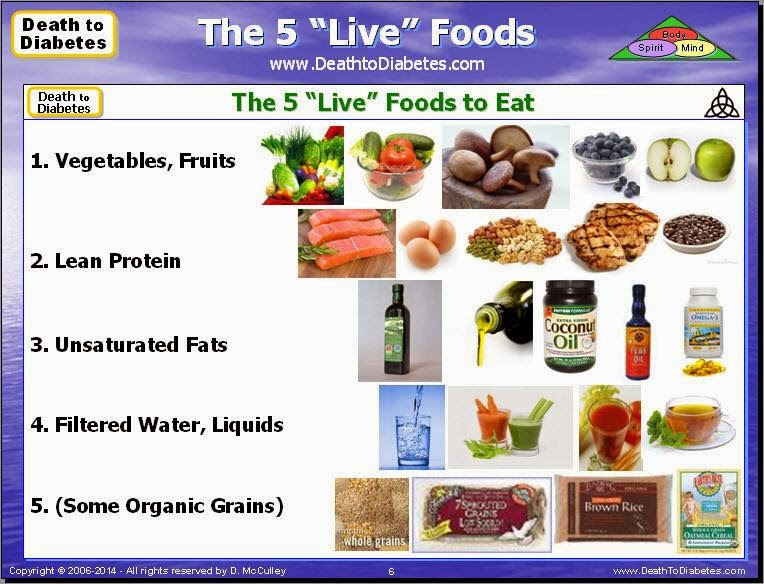 "The 5 ""Live"" Foods"