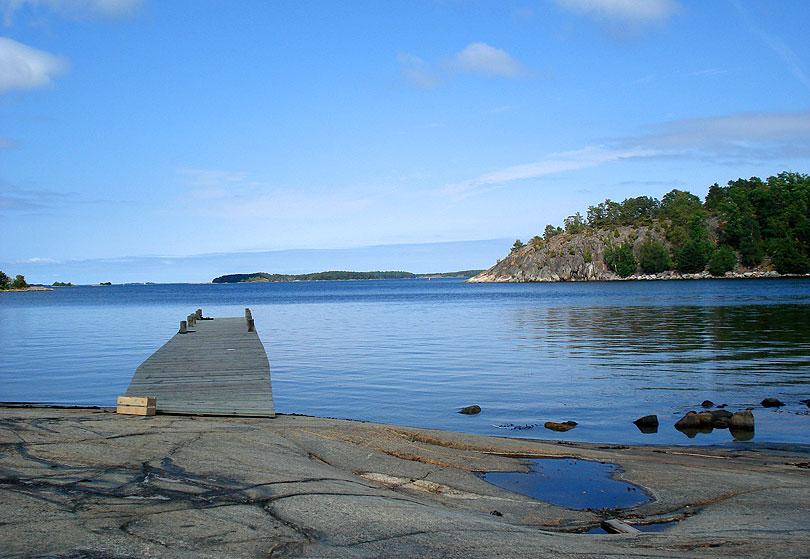 anas suecia mar illa isla island