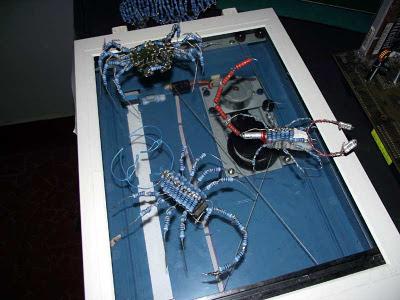 Bichos de componentes eletrônicos