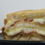 Croqu'cake #2 - Morbier et jambon cru