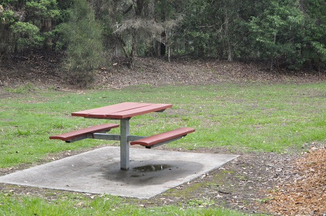 Picnic table Carawah Reserve