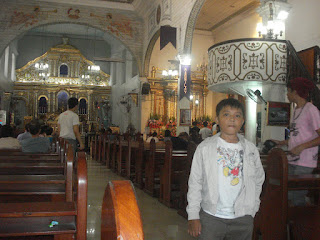 inside Barasoain Church