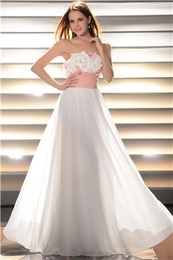 White prom dresses