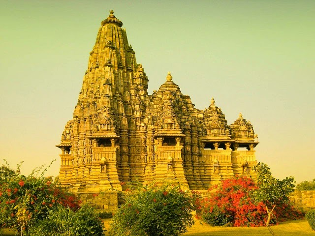 View of Kandariya Mahadev Temple in Khajuraho