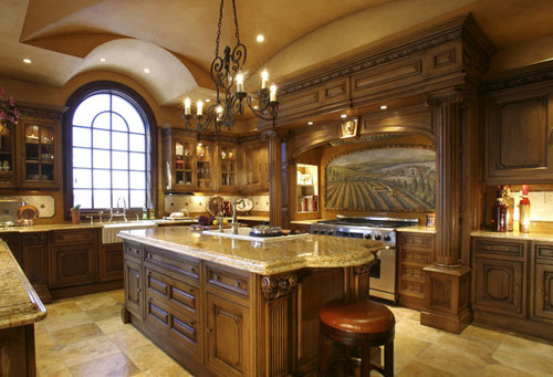 Traditional and Modern Kitchen Architecture