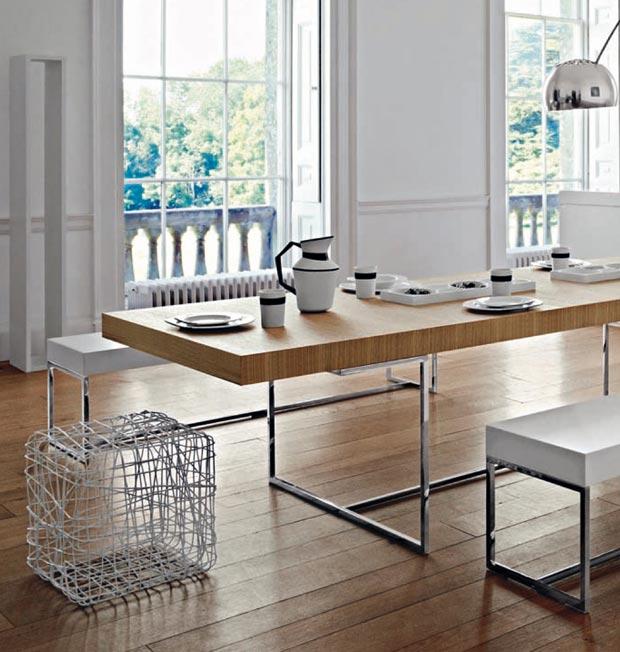 Decoracion Styles: Athos mesa plegable para cocina y comedor de B&B ...