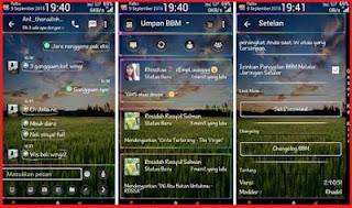Themes Transparan BBM Android MR Neon v1.1 Versi 2.9.0.51