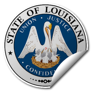 Sticker of Louisiana Seal
