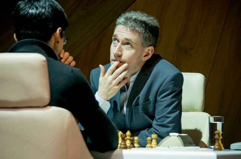 Shamkir Chess 2015. Adams - Giri