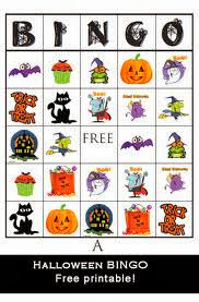 Free Halloween Bingo Cards Printable For Kids 5
