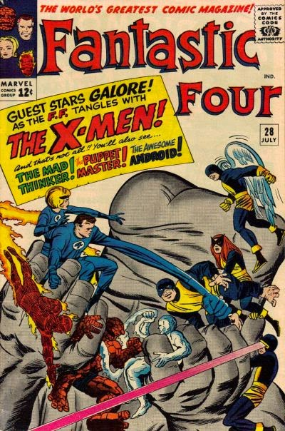 Fantastic Four # 28, X-Men