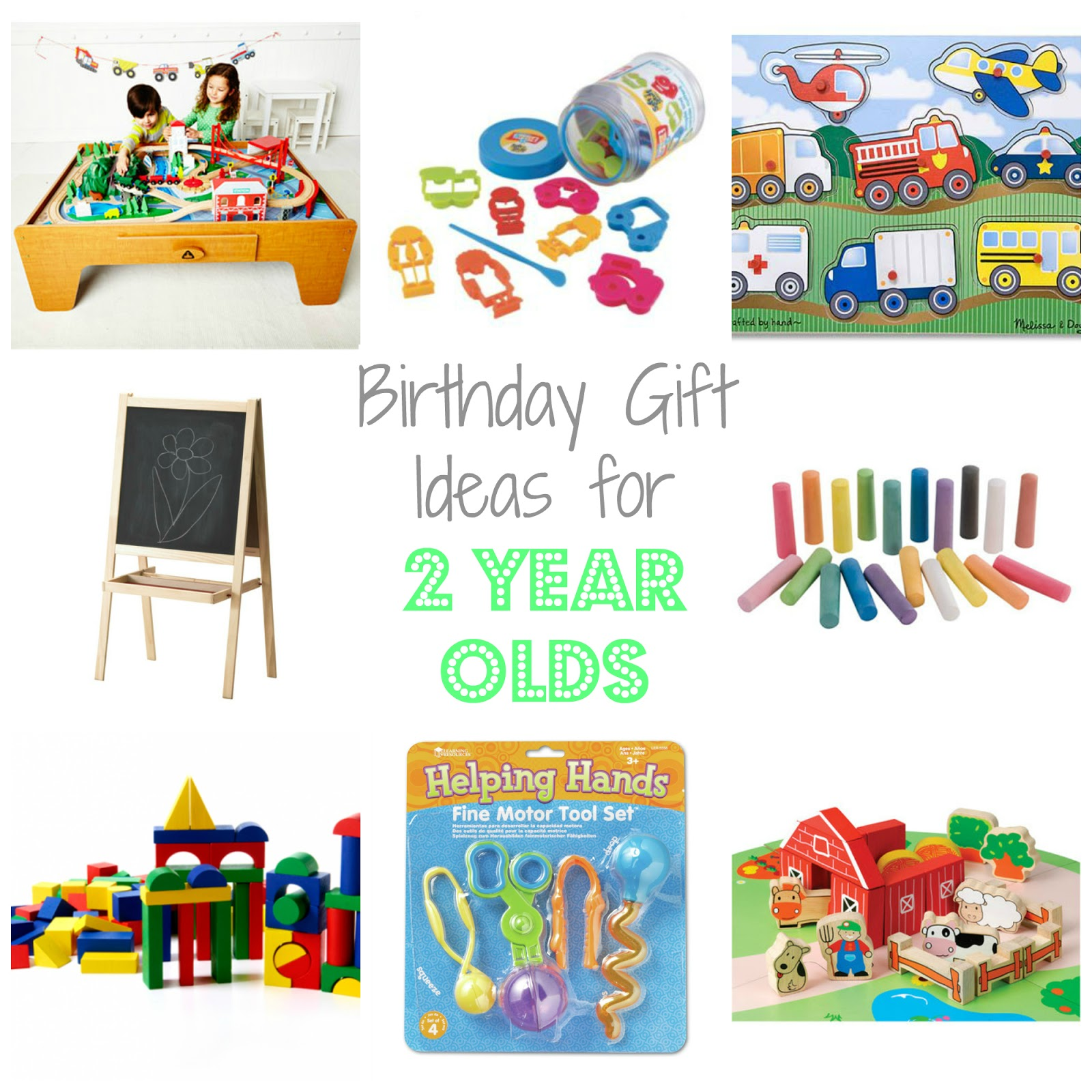 Birthday Gift Ideas for Two Year Olds