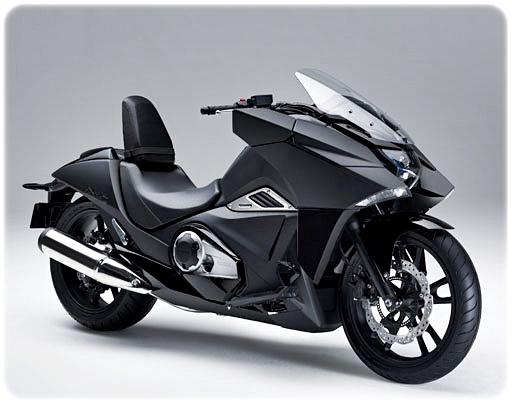 Gambar Moge Honda NM4 Vultus Mat Ballistic Black Metallic