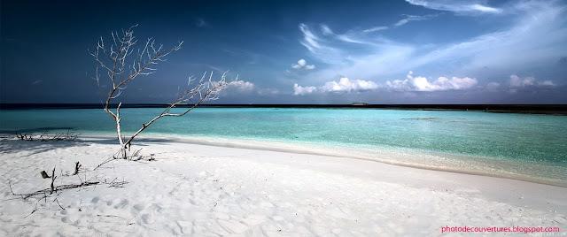 Image de couverture facebook de la plage