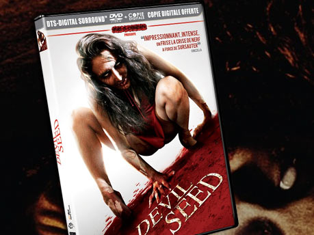 DVD du film Devil seed