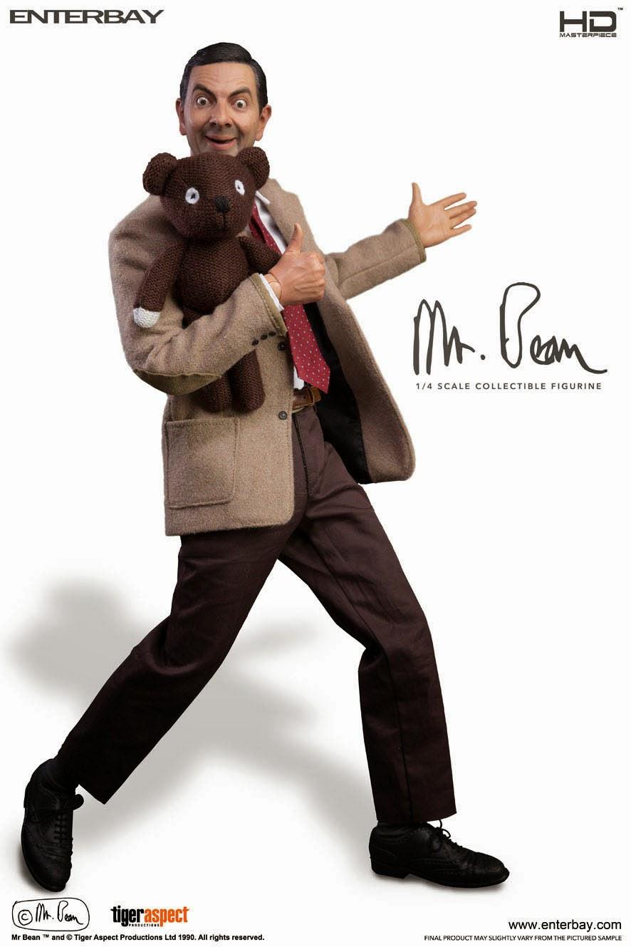 Figura de MIster Bean Hiperrealista Articulada Masterpiece Enterbay
