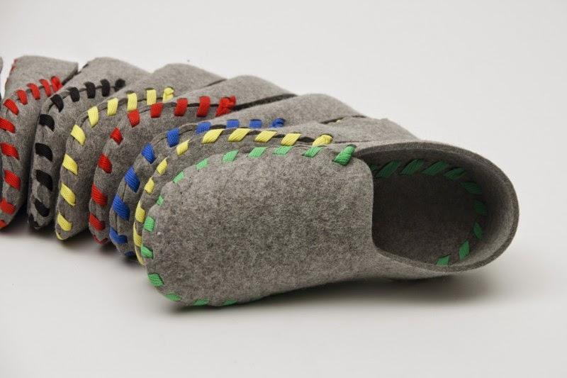 Tutorial para hacer unas zapatillas de Fieltro - **Un paréntesis ...