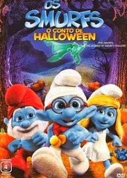 Filme Os Smurfs O Conto de Halloween Dublado AVI DVDRip